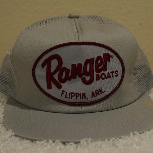 e6ae11acfc8 Vintage cap hat Ranger Boats Flippin Arkansas hat.  M 5b199fe9c2e9fe659c64ce87